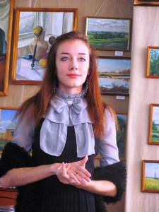 Выставка художницы Дарьи Вдовиной