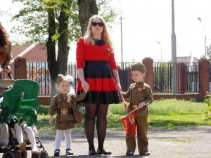 Народные гуляния в День Победы