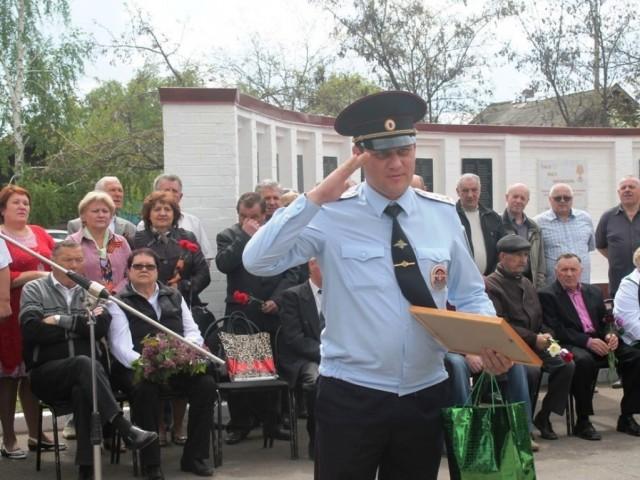 Полиция отметила День Победы