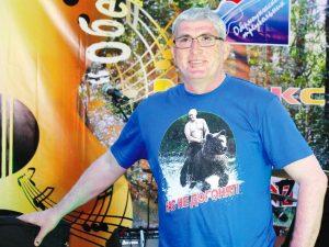 Директор фестиваля «Обермоунджский треугольник» Владимир Есин
