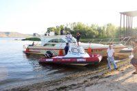 Крестный ход на катерах по Волге