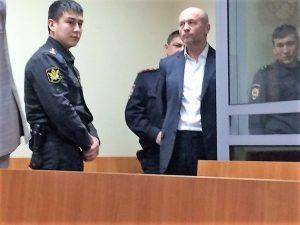 Олег Тополь в суде