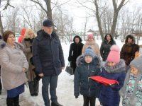 Дмитрий Романов в посёлке имени Тельмана