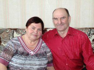 Иван Григорьевич и Валентина Алексеевна Полосьмак