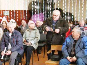 Дмитрий Романов встречается с жителями Михайловки