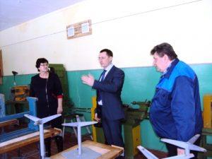 Кабинет технологий в баскатовской школе