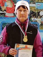 Надежда Хворова, учитель физкультуры школы № 3