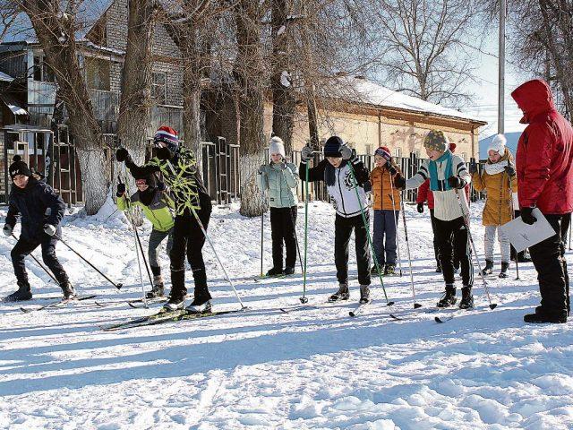 1 этап в лыжных гонках
