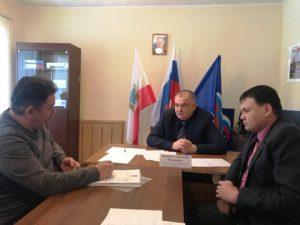 Саратовский депутат Анатолий Ципящук: прием граждан в Марксе