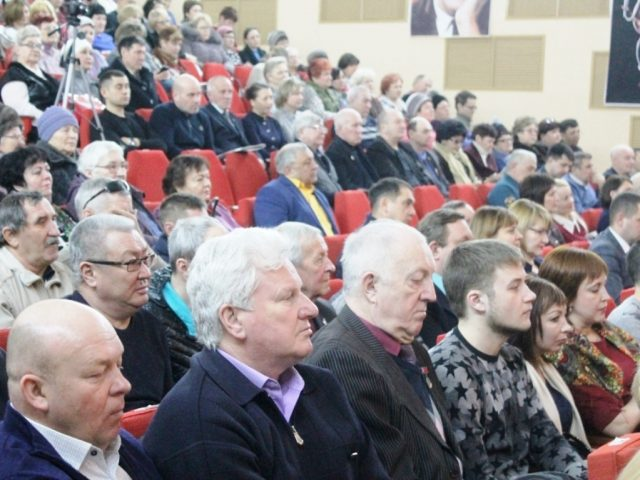 В ЦДК прошло собрание районного актива