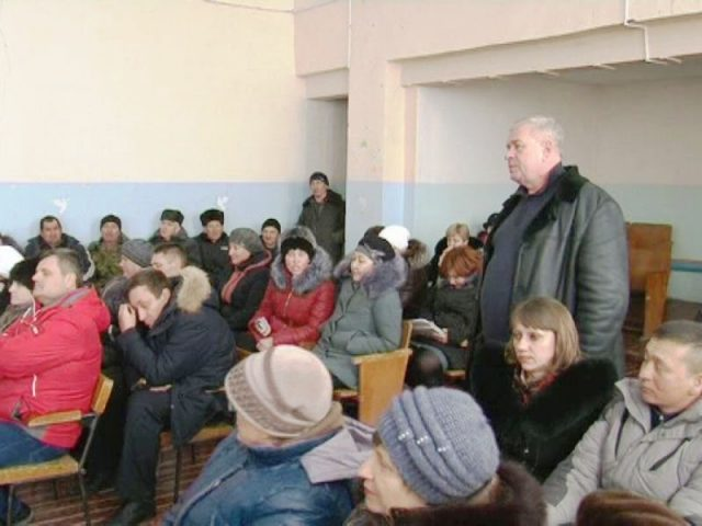 Встреча с жителями Липовского округа
