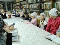 Урок духовности прошел в марксовской воскресной школе