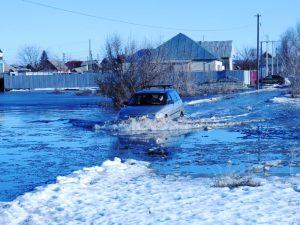 Подтопление жилья талыми водами