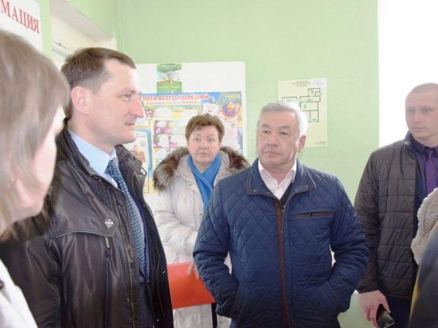 Рабочий визит в Раскатово