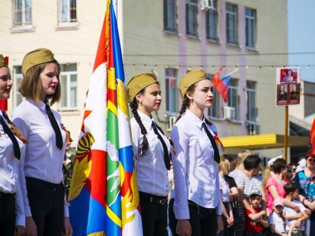 Празднование 73-й годовщины Победы