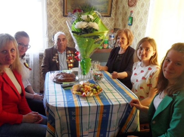 Григорию Давыдовичу Соснеру 3 мая исполнилось 98 лет