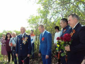 В Красной Поляне установили памятник Андрею Никитовичу Гаврилову