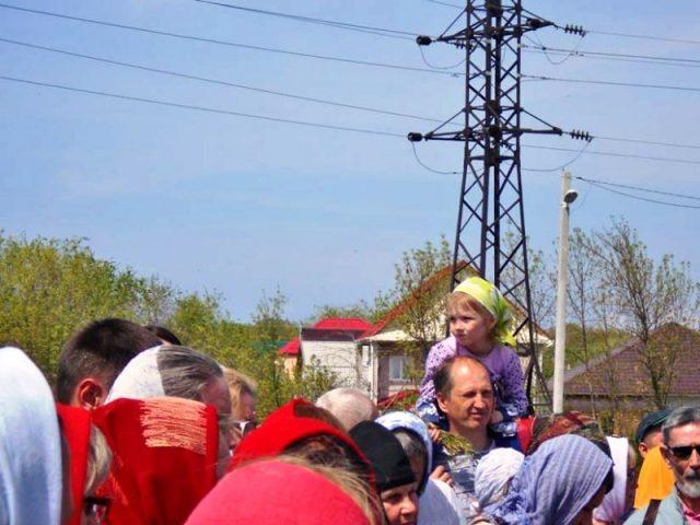 Пасхальный крестный ход 13 мая