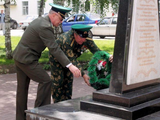 100-летие пограничных войск в Марксе