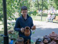 Марксовчане отметили День России в городском парке