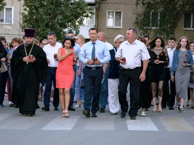 Марксовчане почтили память павших в Великую Отечественную войну