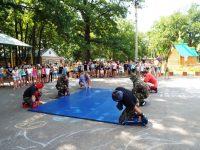 Бойцы Росгвардии посетили лагерь «Огонек»