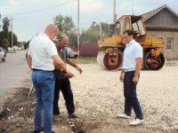 Глава района проинспектировал ремонт дорог