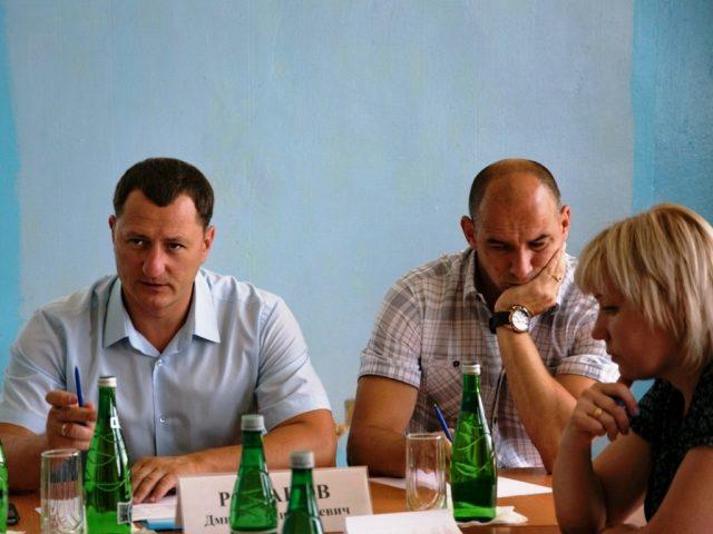 Жители Березовки задавали вопросы главе района