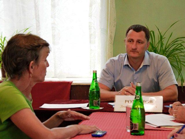 Глава района посетил Звонаревку