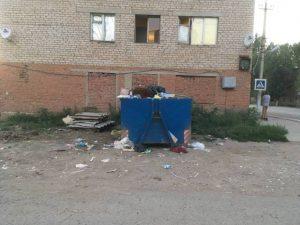 Мертвый город, заваленный мусором