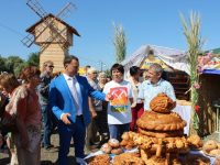 Фестиваль «Хлебная пристань» прошел в Марксе
