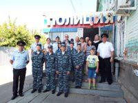 Отряд «Юных друзей полиции» готовится к областному слету
