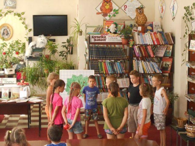 Яблочный Спас для детей прошел в марксовской библиотеке