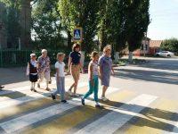 Марксовских третьеклассников переводили через дорогу
