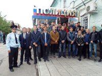 Марксовские выпускники побывали в полиции