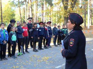Марксовские юные инспекторы дорожного движения вышли на Россию