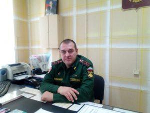 Владимир Чалов, марксовский военный комиссар
