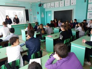 Полицейские провели профилактические встречи со школьниками