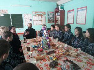 Урок духовности прошел для отряда «Юный друг полиции»