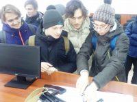 День открытых дверей в Марксовской полиции собрал 80 старшеклассников