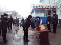 Митинг памяти Николая Короткова прошел в Марксе 11 марта
