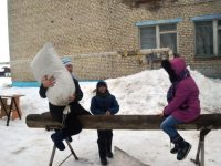 Масленичные разгуляи прошли в Марксовском районе
