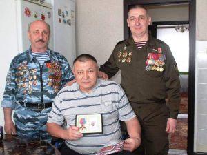 Медаль «За веру и службу Родине» получил житель Осиновского