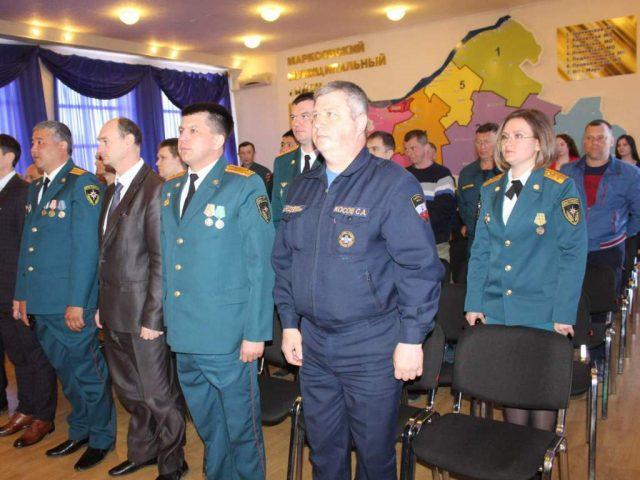 Ветеранов и сотрудников пожарной части №47 наградили Благодарственными письмами