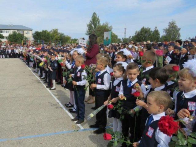 Школы Маркса в 2019 году приняли боле 690 первоклассников