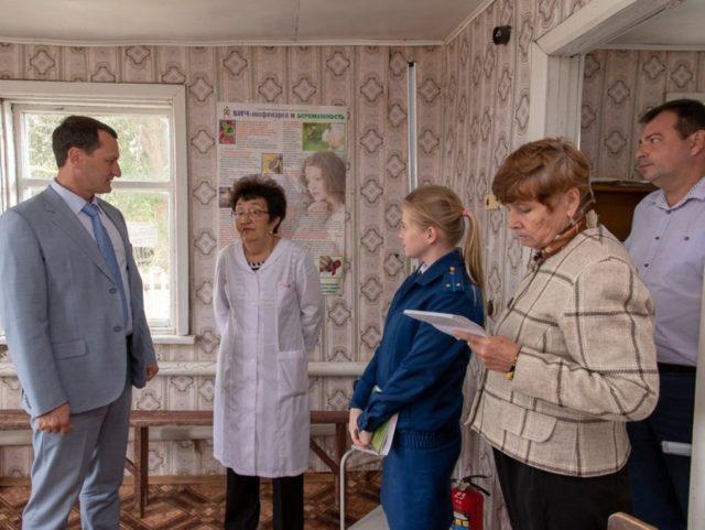 Дмитрий Романов посетил Пугачевку и Фурманово