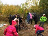 Воскресная школа совершила поход выходного дня на берег Волжанки