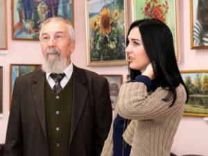 На выставке «Мы волжане» представлены работы 11 художников