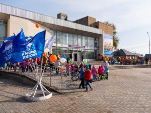 Завершилось благоустройство площади перед Центральным Домом культуры Маркса