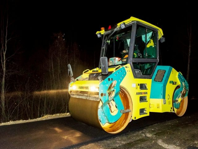 Капитальный ремонт дорог: днем и ночью